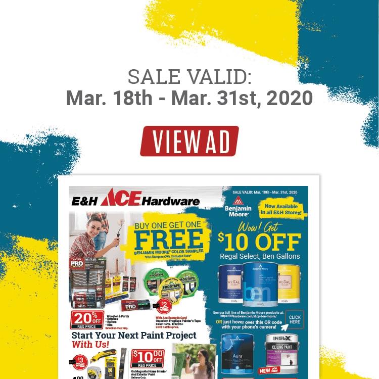 March circular ad