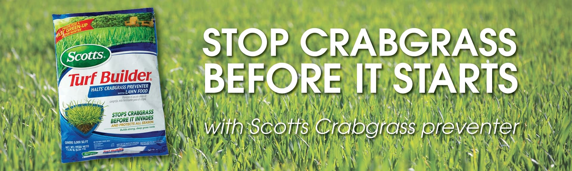 Scotts Crabgrass