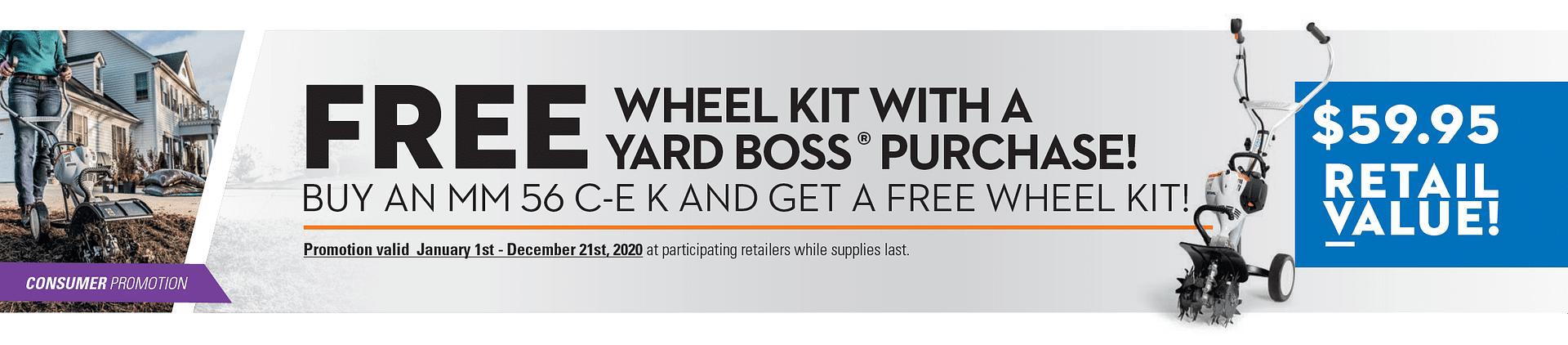 STIHL FREE Wheel Kit